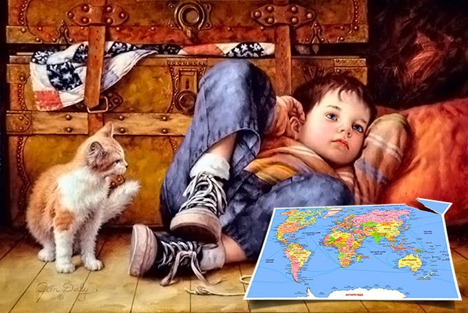 Podobenství o mapě světa
