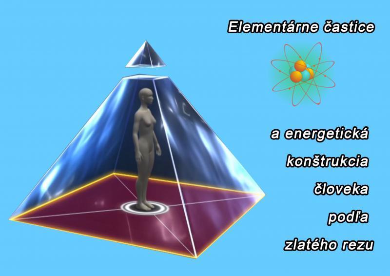 Elementárne častice a energetická konštrukcia človeka podľa zlatého rezu
