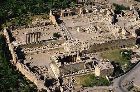 Terasy v Baalbeku – kosmodrom dávné civilizace