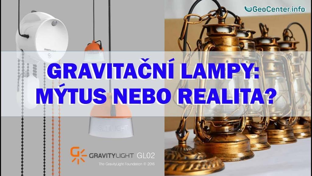 Gravitační lampy: mýtus nebo realita?