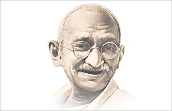 Mahátma Gándhí - o čem dnešní historie mlčí