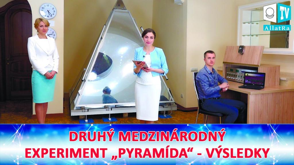 """DRUHÝ MEDZINÁRODNÝ EXPERIMENT """"PYRAMÍDA"""". Výsledky."""
