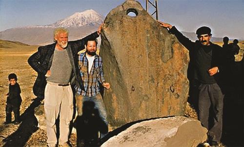 Noemova Archa byla nalezena, pohřbena ve výšce 1900 m nad mořem