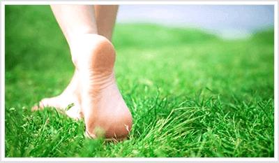 Zdravá chůze naboso