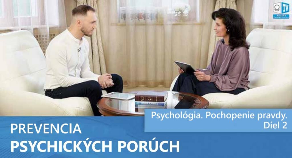 PREVENCIA PSYCHICKÝCH PORÚCH