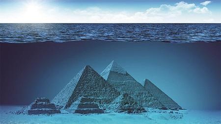 Obrovské pyramidy asfingy nalezeny vBermudském trojúhelníku