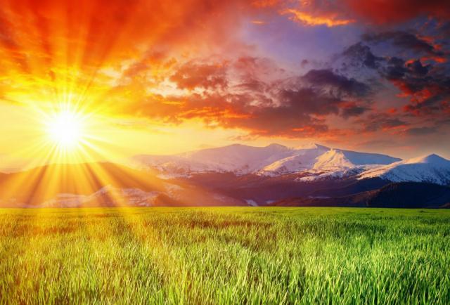 Aby mohlo vyjít Slunce....