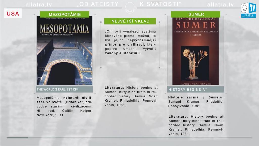 Historie starověkého světa: Mezopotámie, Sumer. Historie starších, vysoce rozvinutých civilizací. Část 4.