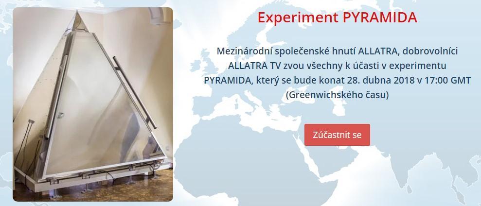 Experiment PYRAMIDA
