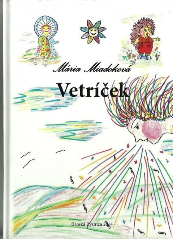 """Na Slovensku vyšla detská kniha s tvorivými znakmi """"Vetríček""""."""