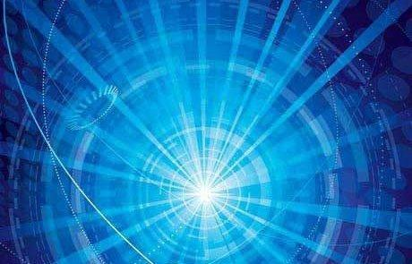 Prejavenie spojenia medzi geometriou priestoru, časom a gravitáciou prostredníctvom neutrína